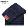 Мужская одежда Bosideng (BOSIDENGMAN) мужская тонкая секция случайных джинсов весной и летом тонкая секция Slim cowboy брюки 3271B64011 темно-синий 31 (два фута четыре)