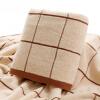 Пепси сладкого хлопок полотенце для увеличения взрослых мужчин и женщин пары детей хлопка сетки удобных мягких впитывающих полотенец - коричневый