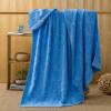 Ин Xin текстильного хлопок жаккарда полотенце сплошного цвета многофункционального дышащее кондиционирование воздуха одеяло одеяло ворс Всесезонный диван крышка одеяло темно-зеленый 150 * 200см ying xin домашний текстиль с кожаным покрытием резные одеяло фланель коралловое бархатное одеяло