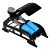 REXWAY портативный ножной воздушный насос, ножной нагнетательный воздушный насос для велосипеда, электро-мотороллера, мотора насос подкачки ножной с маном 2 цилиндра vettler