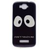 Не трогайте меня Pattern Мягкий тонкий ТПУ резиновый силиконовый гель Дело Чехол для Alcatel One Touch Pop C7 чехол накладка iphone 6 plus lims sgp spigen стиль 7 620026