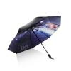 [супермаркет] Hommy Jingdong открытые руки сложенный зонтик легкий портативный складной зонт UV ВС зонтик ВС зонтик женщина зонтики яркие звезды да ладно зонтиклистья лето вс зонтик