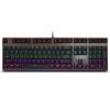 Rapoo V700S Механическая игровая Клавиатура с подсветкой механическая игровая клавиатура rapoo v500 линейный переключатель