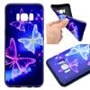 Звезда бабочка шаблон Мягкий тонкий ТПУ резиновый силиконовый гель Дело Чехол для Samsung GALAXY S8 printio чехол для samsung galaxy s8 силиконовый