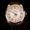 Я. Zhuolun бизнес часы 2017 новая весна выросли золотые часы часы часы шкала YZL0580TH-4