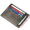 AIM ретро мужская мода бумажник мужчины первый слой кожаный бумажник наборы держателя карты карты банковской карты пакет A295 абрикоса обучение карты
