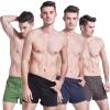 Мужские свободные одноцветные трусы-боксеры из хлопка мужские трусы из сетки