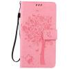 Pink Tree Design PU кожа флип крышку кошелек карты держатель чехол для HUAWEI MATE 8