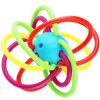 Bain Ши (beiens) ребенка Прорезыватель Manhattan схватив мяч ребенка режутся зубы кольца Gutta развивающие игрушки для новорожденных игрушки 0-3-6-12 месяцев 0-1 лет дети прорезыватель manhattan toy winkel