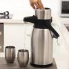 [Jingdong супермаркет] Run Europe Tetsuya рука толчок чайник тепла горшок 3L из нержавеющей стали термос существо чайник r 3l
