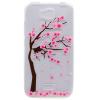 Обложка Вишневое дерево шаблон Мягкий тонкий ТПУ резиновый силиконовый гель чехол для Huawei Honor Bee/Y5c