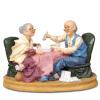 Золотой огонь на красный рабочий стол, чтобы съесть ее бабушки украшения, чтобы отправить родителям подарки подарки свадебные подарки