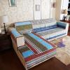 (FANROL) диван-циферблат четыре сезона диван комплекты коврики ткань шлифовальный диван туалетная крышка простой двухсторонний диван подушка костюм ветер до дней письмо 70 * 180 см