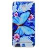 Голубая бабочка шаблон Мягкий чехол тонкий ТПУ резиновый силиконовый гель чехол для Lenovo C2 смартфон lenovo vibe c2 power 16gb k10a40 black