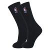 [супермаркет] Jingdong NBA профессиональные баскетбольные чулки полный махровых утолщение сплошной цвет хлопок мужские спортивные носки черный Размер