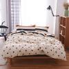(Byford) Постельные принадлежности Текстиль для дома Twill Twill Отпечатанный комплект из четырех предметов для постельного белья увеличивает размер двуспальной кровати 1,5 / 1,8 м