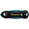 Американский Corsair (USCORSAIR) Voyager USB3.0 128GB высокоскоростной U диск прочный резиновый корпус синий водонепроницаемый и ударопрочный флешка usb 128gb corsair voyager slider x2 cmfsl3x2 128gb черно голубой