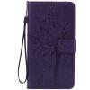 Purple Tree Design PU кожа флип крышку кошелек карты держатель чехол для HUAWEI MATE 8