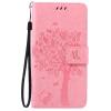 Pink Tree Design PU кожа флип крышку кошелек карты держатель чехол для HUAWEI P9LITE