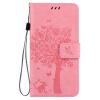 Pink Tree Design PU кожа флип крышку кошелек карты держатель чехол для LG G5