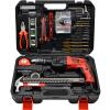 Kavwell 4OOW Hammer Impact Drill Toolbox Tool Kit Набор инструментов Инструмент для ремонта дома 41шт. Комплект P15041A cпоттер для кузовного ремонта redhotdot hammer tt 048782