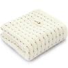 версия Sanli Хлопок AB старой грубой тканью полотенце 34 × 72см сторона марля сторона махровых полотенец плюсы и минусы двойного использования мыть свет льняного цвета
