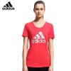 Adidas женская спортивная футболка для бадминтона