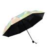 Да ладно зонтиклистья лето ВС зонтик творческий сверхлегкой складной зонт зонтик УФ зонтик складной зонты женский подарочной зонты moschino зонт складной moschino 8181 oca toy lettering black