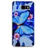 Голубая бабочка шаблон Мягкий чехол тонкий ТПУ резиновый силиконовый гель чехол для SAMSUNG Galaxy A3 2016/A310