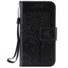 Черное дерево дизайн PU кожа флип Обложка Кошелек Карты Держатель чехол для IPHONE 4