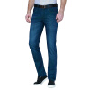 Rimula мужской K-бокс джинсы моды кошки, чтобы быть досуг дикие мужские хлопчатобумажные эластичные джинсы FQRY2335 синий зеленый 36
