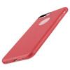 Взрыв Кеша (Бэнкс) AppleiPhone7 Plus Apple, телефон оболочка / защитный рукав яблоко мобильного телефона устанавливает I7 Plus 7 все включена популярной марка матовой мягкой оболочка серия Skin красная