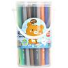 Deli (гастроном) 6988 Детской Красочная акварель ручки / ручка краски 50 цвета / баррель цвет случайный краски акварель петербургская классика 24цв
