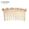 Химера (CHIMERA) любит полный волос ювелирного гребень пластина золотой гребень вставляется гребень гребни эстет гребень