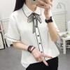 Футболки рубашки прилива VWCD174237 VIVAHEART белый галстук корейских женщин с короткими рукавами рубашки Размер рубашки футболки для детей