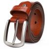 [Супермаркет] Jingdong MEXICAN пугало мужской ремень бизнеса вскользь пряжка штыря первый слой кожаный мужской ремень коричневый ремень MXI10901M-01 ремень modis modis mo044dgros05