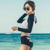 SEAROCK женский модный купальник, плавки с солнцезащитными длинными рукавами atlantic searock 87471 47 25r