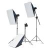 В зависимости от TX-250W Eagle Le траверс съемке со вспышкой света в трех свет лампы установленной камеры фотографирование фотосъёмке мягкой коробки студийный свет