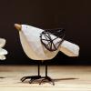 Искусство воротник белый керамические птицы домашние животные орнаменты современный минималистский гостиной - камышевка украшения