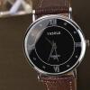 Я. Zhuolun Ши Ин смотреть новые бизнес-модели моды случайные и простой унисекс Аналоговые часы мужские часы мужчины YZL0526TH-2 citizen часы света кинетической энергии простой черный телячья кожа ремень бизнес случайные мужские часы bm8240 03e