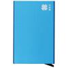 Цветочный набор металлических карточек пакет творческих бизнес-подарков анти-магнитные противоугонные чтения автоматического выброса мечты синий противоугонные устройства