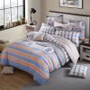 (Dohia) Комплект постельного белья Хлопок Twill Двуспальные кровати 4mu 1.5m Bed Mocha Manor 200 × 230 см