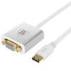 BIAZE Mini HDMI to VGA Converter Переходник Mini HDMI HD to VGA конверсионный кабель со звуковым источником питания алюминиевый сплав версии ZH12-алюминий переходник hdmi vga днс