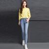 VIVAHEART вышивка корейской версии случайных брюки ноги Тонкий стрейч карандаш джинсы женщина VWKN172243 синий 26 джинсы camomilla ilove джинсы стрейч