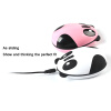 MyMei 1pcs Panda Recharge Mouse Mouse Mouse Mat Office gift for computer White Hot Pink