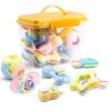 Bain Ши (beiens) детские погремушки новорожденного ребенка Teether Rattle детские игрушки 0-3-6-12 месяцев 0-1 лет дети развивающие игрушки B225