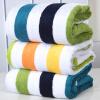 Китайский узел ZHONGGUOJIE текстильный полотенце Увеличение утолщение кожи чистые мягкие и абсорбирующие волокна бамбука полотенца большое банное полотенце голубой полосой 720g / Статья 90 * 160см