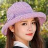 [Супермаркет] Jingdong ожесточенная Гданьск (шведских крон) WMZ170768 шляпа женский корейский плед лук козырек шлема солнца керлинг Rose свадебное платье 2015 wmz