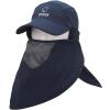 Скейлер (SCALER) быстросохнущая шапка шляпа мужчин и женщин шляпа солнца песок пустыни пылезащитный колпачок синий колпачок S8211233
