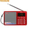 Немецкое здравоохранение (Tecsun) ICR-110 цифровой аудиоплеер магнитолы звуковой карта цифровое видео по запросу машина старого радиоприемник (красный) радиоприемник perfeo егерь fm красный i120 red